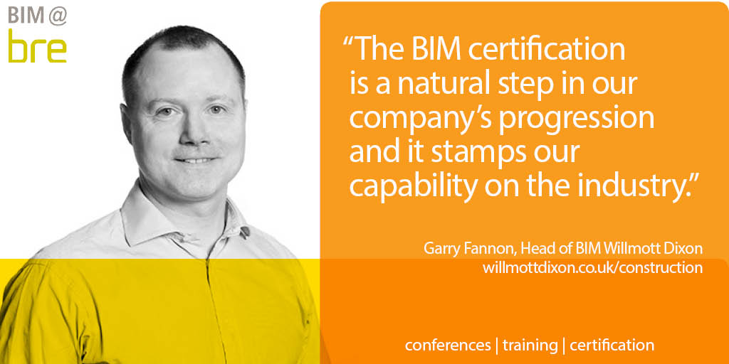 Garry Fannon, Willmott Dixon Head of BIM
