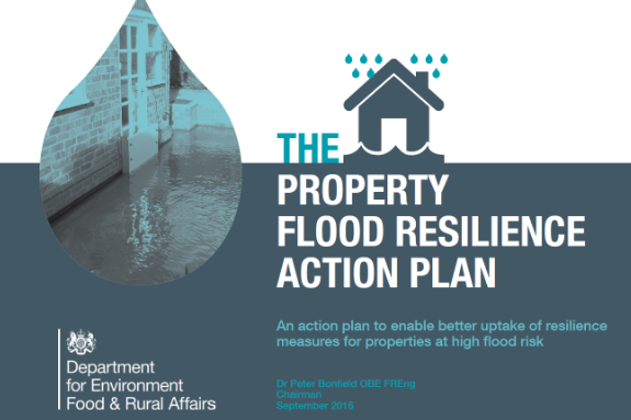 Property Flood Resilience Action Plan