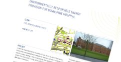 Environmentally Responsible Energy for Downshire Hospital