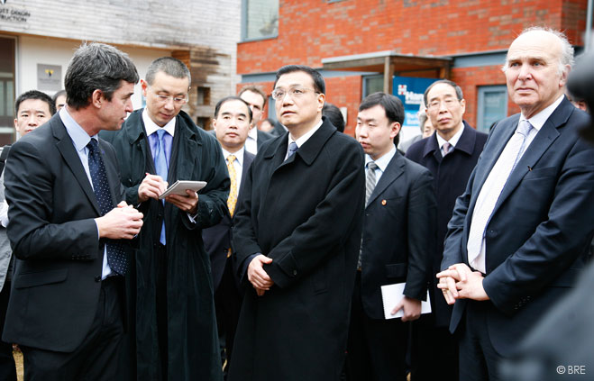 Chinese delegation in BRE Innovation Park
