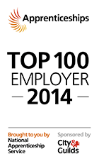 Apprenticeships Top 100 employer